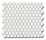 El Casa Hexagon Blanco Shine  26x30