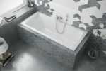 Excellent Aquaria bathtub 1395 x 700 mm