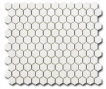 El Casa Hexagon Blanco Matt  26x30