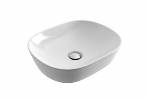 Excellent Jima lay-on ceramic washbasin