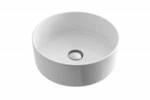 Excellent Ovia 35 lay-on ceramic washbasin