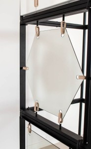 Bungee mirror hexagon