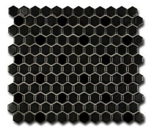 El Casa Hexagon Negro MIx 26x30