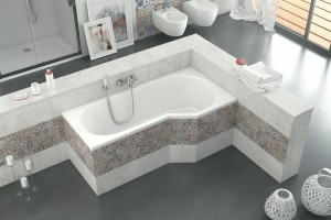 Excellent Be Spot bathtub 1600 x 800 mm - right