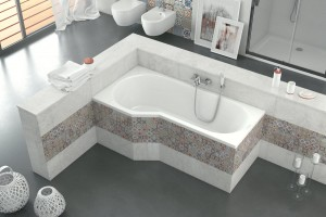 Excellent Be Spot bathtub 1600 x 800 mm - left
