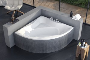Excellent Glamour bathtub 1405 x 1405